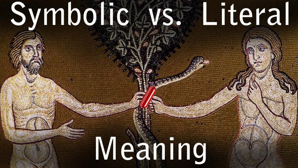 literal vs symbolic